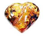 baltic amber heart